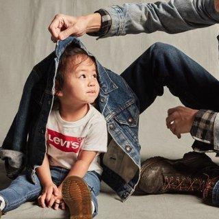 6折  Levi's经典白T $12Levi's、Calvin Klein、Tommy Hilfiger等秋冬童装热卖