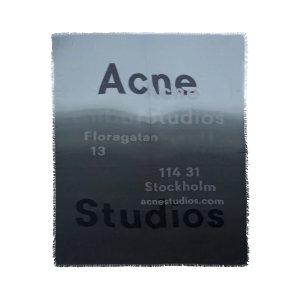 Acne StudiosFrayed degrade fil coupe渐变围巾