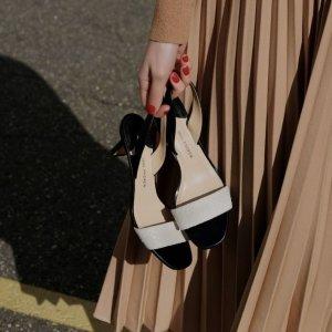 低至5折 $564收Balenciaga穆勒鞋Saks 折扣美鞋专区 收MB The Row Jimmy Choo仙女款