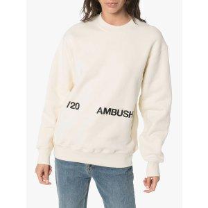 Ambush吴亦凡同款logo-print 卫衣