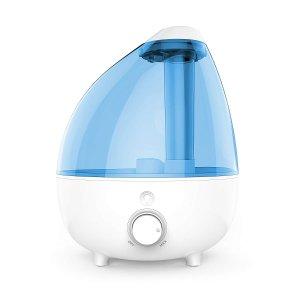 $35.99 可持续工作24小时Pure Enrichment 1加仑大容量超声波空气加湿器