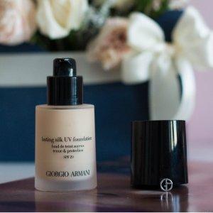 GIORGIO ARMANI beauty适合亚洲人!纯净持妆粉底液