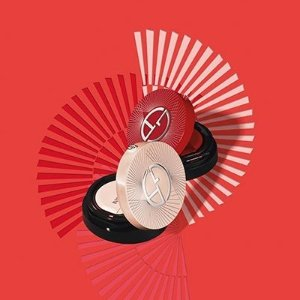 $85,送眼霜和睫毛膏小样Giorgio Armani Beauty 阿玛尼 限量版红丝绒气垫 上市热卖