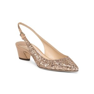 Made In Italy Slingback Pumps