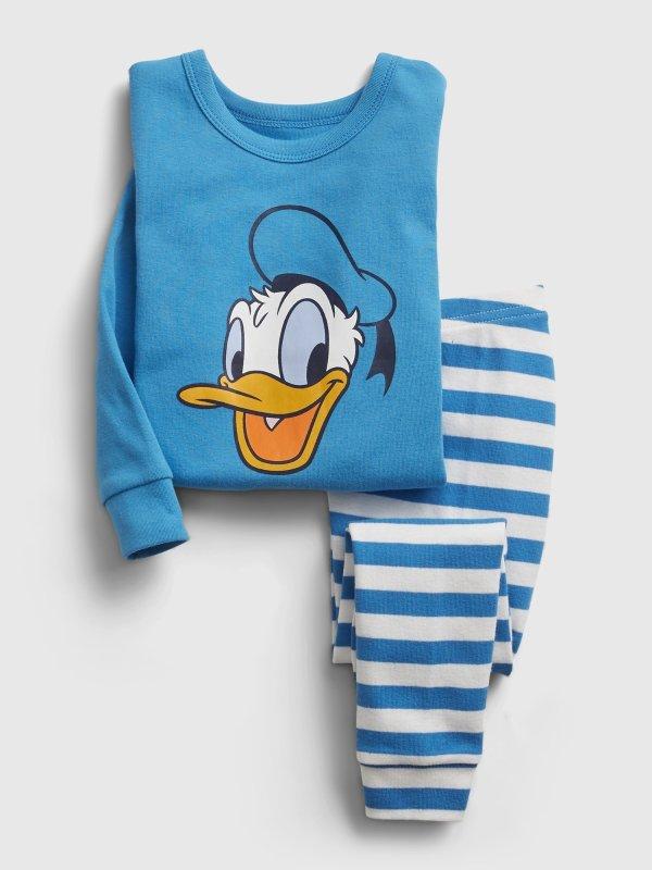 Disney Donald Duck 婴儿、小童有机棉睡衣套装