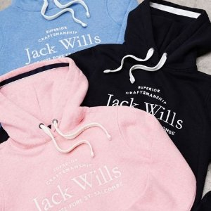 低至3折 T恤£12 卫衣£30Jack Wills 英伦校园风季中大促 学生党超爱的品牌