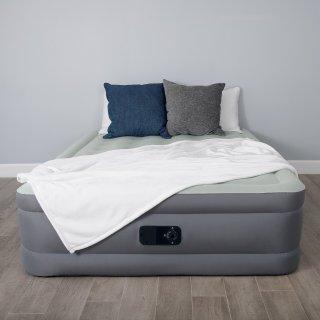 $35Bestway SleepLux Queen Size Airbed w/ Built-in Electric Pump