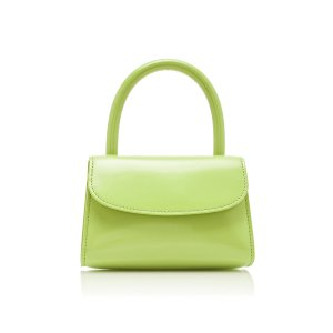by FARMini Patent-Leather Top Handle Bag