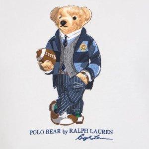 5折起!T恤£41 大童款£87Ralph Lauren官网 小熊专场 经典上镜有品位 可可爱爱过夏天