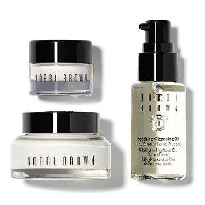$25 ($49Value)Bobbi Brown 3-Pc. Carry On Skincare Set @ macys.com