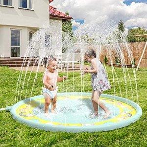 Anpro 充气喷泉池