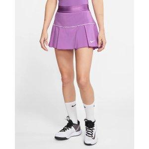 Nike紫色网球裙裤