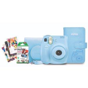 $69 双色可选Fujifilm Instax Mini 7S 拍立得 + 10张相纸 + 相机包
