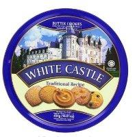 White Castle 黄油饼干铁盒装 454g