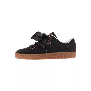 Puma黑色蝴蝶结运动鞋