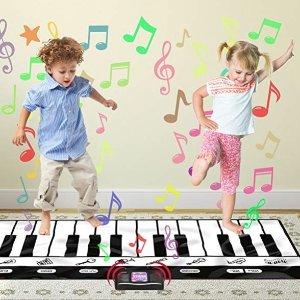 低至$7.19Click N' Play 儿童游戏垫、24键钢琴毯、海洋球等玩具特卖