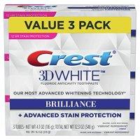 Crest 3D美白牙膏 3支装
