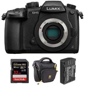PanasonicPanasonic Lumix DC-GH5 + 32GB SD + 电池 + 包