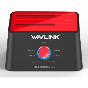 Wavlink USB 3.0 to SATA Dual Bay Hard Drive Docking Station