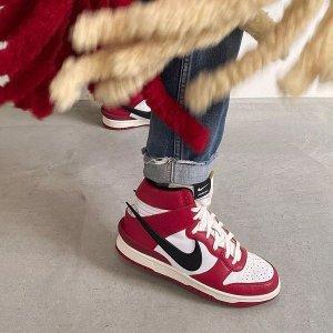 主理人曝光 实物图抢先看AMBUSH x Nike Dunk High 联名球鞋第二弹 芝加哥配色曝光