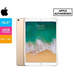 AppleWiFi + 蜂窝版 金色10.5-Inch iPad Pro 64GB