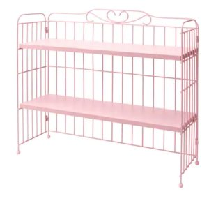 FALKHÖJDEN Add-on unit for desk - pink  - IKEA