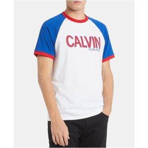 c57a3dd7e57f Calvin Klein JeansMen s Athletic Colorblocked Logo Graphic T-Shirt.  15.80   39.50. Calvin Klein Jeans Men s ...