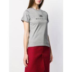 Balenciaga徽标 T 恤