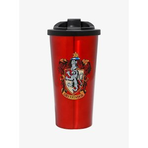 Harry Potter Gryffindor Stainless Steel Travel Mug