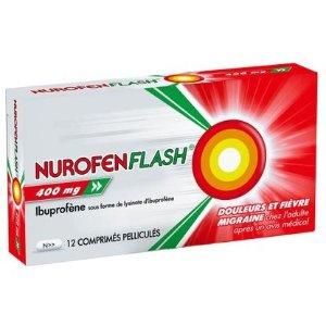 消炎药;缓解头痛、经痛、关节炎等Nurofenflash® 400 mg - 退烧止疼药