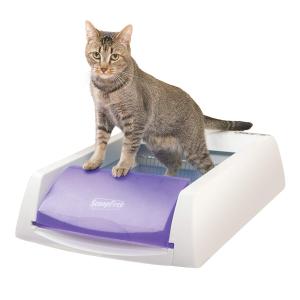 低至6.5折ScoopFree 智能猫砂盆促销,告别