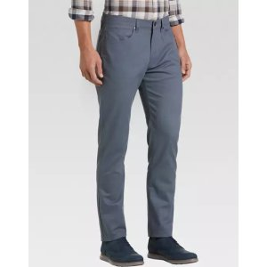 Joseph Abboud2 for $70Postman Blue Classic Fit Twill Casual Pants