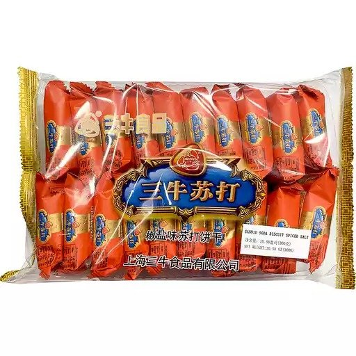 三牛椒盐苏打饼干 10.58oz