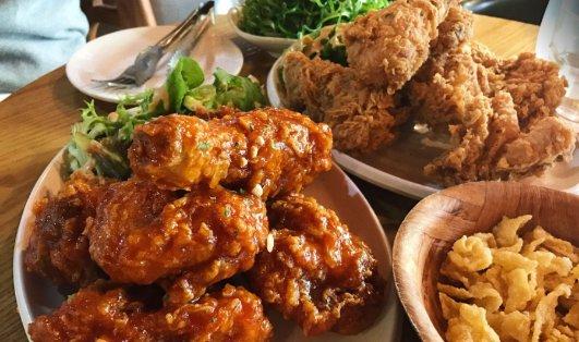 墨尔本ABC Chicken餐厅 炸鸡套餐$32墨尔本ABC Chicken餐厅 炸鸡套餐$32