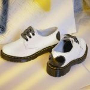 Dr. Martens3/6/7/8码,爱心尾黑丝带 1461 小皮鞋