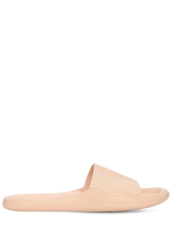 樱花粉拖鞋