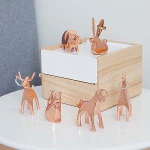 低至66折 $5.75收动物戒指收纳Umbra 创意储物盒 简约相框  整洁的房间在向你招手