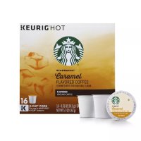 Starbucks 焦糖中焙K cup咖啡胶囊 16颗