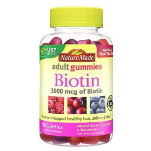 $6.92Nature Made 复合维生素软糖 90颗 改善发质、指甲健康