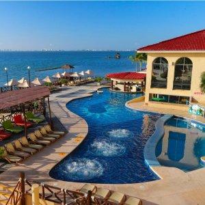 $479起 含机票+酒店+餐饮+娱乐墨西哥坎昆4晚/6晚 All Ritmo 全包式度假村+水上乐园