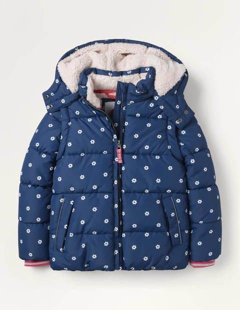 儿童可脱卸袖子保暖外套