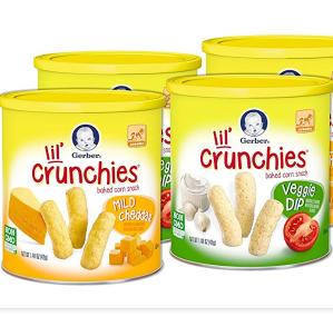 $15.08Gerber Graduates Lil Crunchies Mild Cheddar and Veggie Dip, 8 Count
