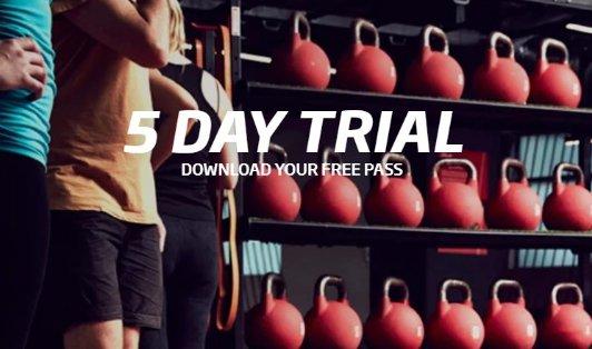 Fitness First 健身房注册送5天体验课Fitness First 健身房注册送5天体验课