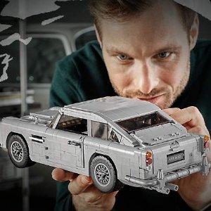 8月1号隆重登场!售价 £129.99!预告:LEGO官网 007座驾 Aston Martin DB5 10262