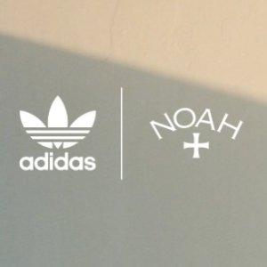 $68收三叶草T恤上新:NOAH x adidas Originals 合作系列发布 街头运动风