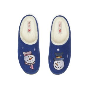 Save the Children Snowman Womens Slippers