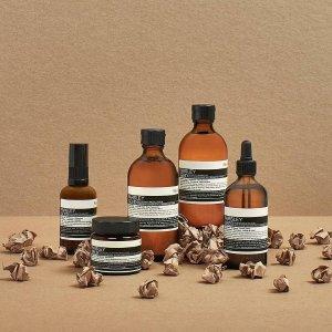 20% offon Aesop skincare products @ Lookfantastic