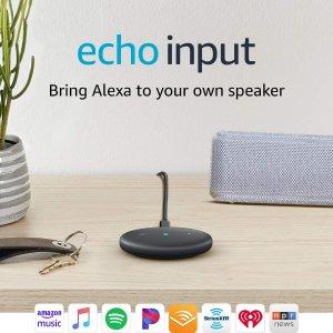 史低价:Echo Input 让你的音箱变得智能起来