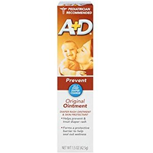 Amazon.com: A+D Original Diaper Rash Ointment, Baby Skin Protectant With Lanolin and Petrolatum, Seals Out Wetness, Helps Prevent Diaper Rash, 1.5 Ounce Tube: Health & Personal Care