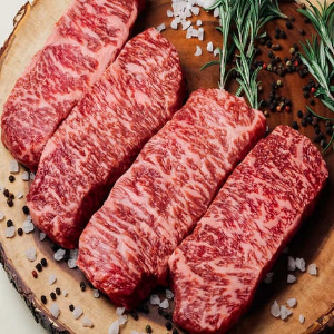 A5 Wagyu Slices $249.99A5 Wagyu Striploin Shabu Shabu Slices